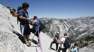 Yosemite Half Dome's new lottery permit system begins
