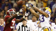 Saturday's matchup: Alabama at LSU