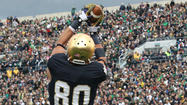 Saturday's matchup: Pittsburgh at Notre Dame