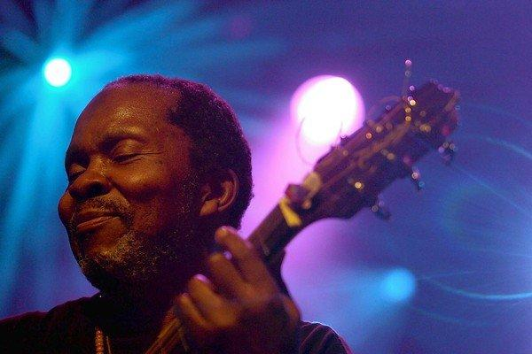 Terry Callier performs at the Montreux Jazz Festival in Switzerland in 2006.