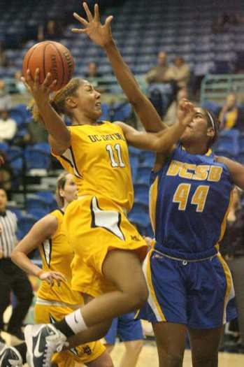 UC Irvine's Jazmyne White (11) is the top returning scorer.