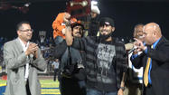 VIDEO: Sergio Romo given key to the City of Brawley