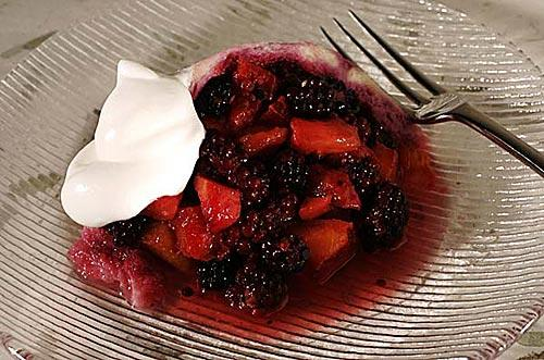 California Summer Pudding