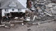 Sandy's aftermath: Aerial views