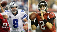 Quarterback questions: Tony Romo, Matt Ryan have different issues
