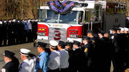 Pictures: Funeral For Easton Firefighter
