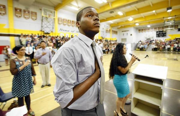 Michael Tubbs, 22, grew up in the working-class port city of Stockton, which filed for bankruptcy in June. He is now a candidate for City Council.
