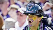 Ravens fan of the week: 'Fired Up' fires up the crowd