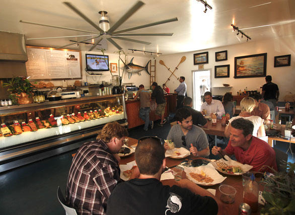 Bear Flag Fish Co. in Newport Beach