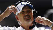 INDIANAPOLIS - Chuck Pagano wasn't just going to be a casual spectator on Sunday, he was going to make his presence felt.