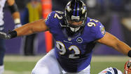 Ravens Pro Bowl defensive tackle Haloti Ngata is active for today's game against the Cleveland Browns despite a right shoulder injury and a sprained right medial collateral ligament.