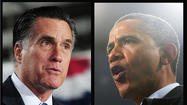 "The musical battle between Barack Obama and Mitt Romney heated up recently as Stevie Wonder released a funky new pro-Obama song called ""Keep Moving Forward,"" while Meat Loaf celebrated his support of Romney by belting a goofy ""America the Beautiful"" practically into his face, thus demonstrating that, yes, there can be ham in Meat Loaf."
