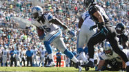 JACKSONVILLE, Fla. -- Running back Mikel Leshoure scored three times in the second quarter and sore-kneed wide receiver Calvin Johnson ended a string of slow starts.