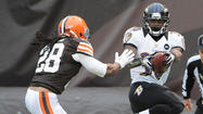 Box score: Ravens 25, Browns 15