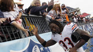 3 Bears: Tillman too hot, Marshall just right in rout