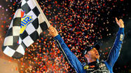Johnson holds off Keselowski to win at Texas, Bowyer's title hopes take a hit
