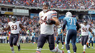 NASHVILLE, Tenn. — Setting his clock back six years Sunday at LP Field, Bears linebacker Brian Urlacher stayed stride for stride with Titans running back Chris Johnson covering a deep pass route down the sideline.