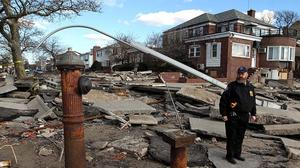 New York faces 'massive housing problem' after Sandy, governor says