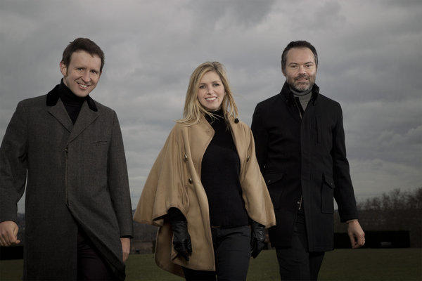 Saint Etienne: Bob Stanley, left, Sarah Cracknell and Pete Wiggs.