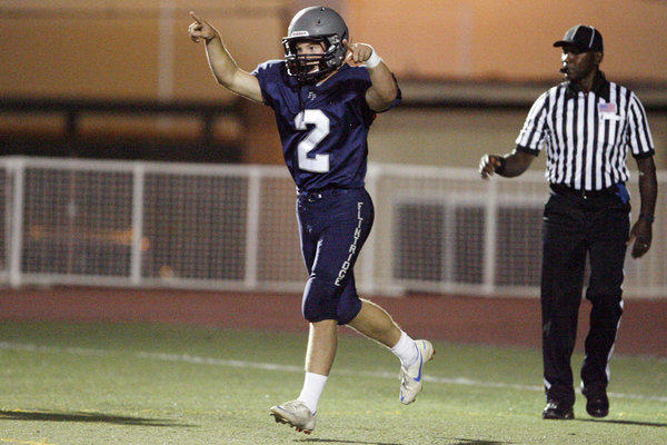 ARCHIVE PHOTO: Kurt Kozacik is one of two Flintridge Prep running backs (Stefan Smith is the other) to rush for more than 1,000 yards this season.