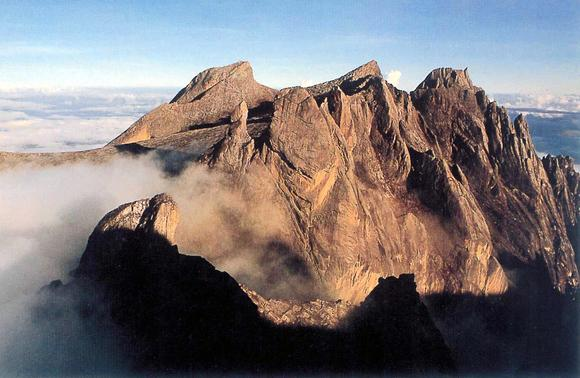 This undated photo shows Mount Kinabalu, South East Asia's highest peak, in East Malaysia's state of Sabah.