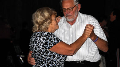 The secret to lasting love for Joan and George Provost, of Attleboro, Mass., is polka.