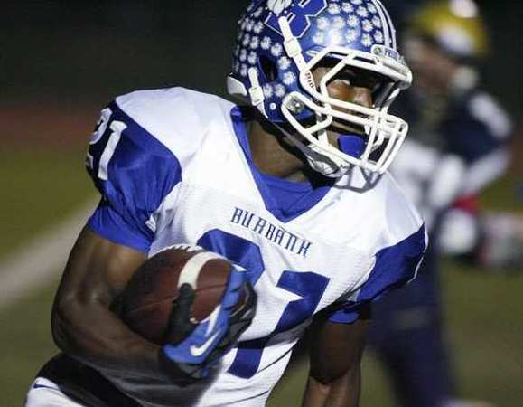 ARCHIVE PHOTO: Burbank's sophomore running back James Williams has combined with senior tailback Teddy Arlington for over 2,000 rushing yards this season.