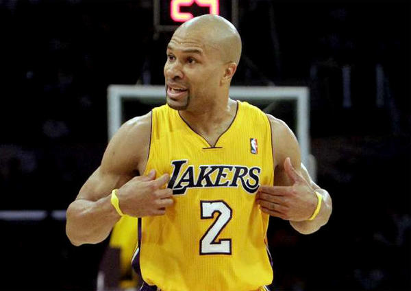 The Lakers don't have plans to sign a point guard, despite the availability of Delonte West and Derek Fisher.