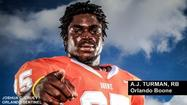 Orlando Boone High running back<strong> A.J. Turman</strong> has said all along during his senior season that he would worry about recruiting when the season was completed.