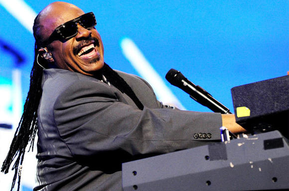 Stevie Wonder is playing a Barack Obama campaign event in Norfolk.