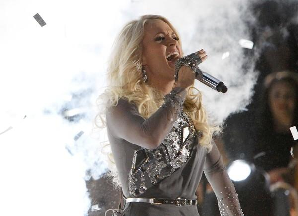 "Carrie Underwood performs ""Blown Away"" at the 46th Country Music Association Awards. She appears Saturday, Nov. 10, at the XL Center in Hartford."