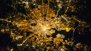 International Space Station captures Baltimore by night