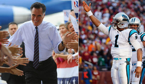 Mitt Romney will win Tuesday's presidential election thanks to Cam Newton and the Carolina Panthers ... that is, if the so-called Redskins rule holds up.