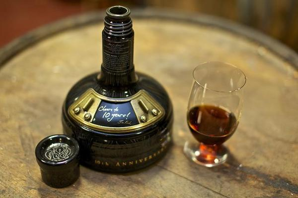 A bottle of $190 Sam Adams Utopias