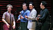 "Tuesday: ""Million Dollar Quartet"""