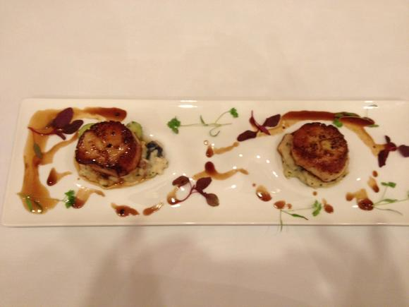 Fin's scallop and risotto dish took top prize