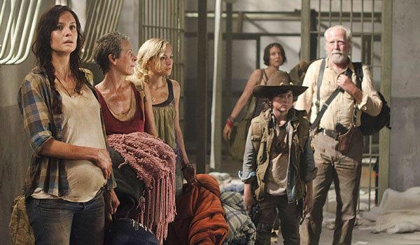 """Cast members of """"The Walking Dead."""""""