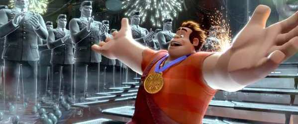 "Actor John C. Reilly is the voice of ""Ralph"" in ""Wreck-It Ralph"" in the video game world of ""Hero's Duty."""