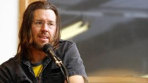 David Foster Wallace scrapes the stars ... and the barrel