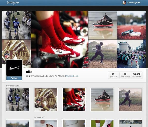 Instagram introduced Web profiles Monday, the social network's biggest push into the Web yet.
