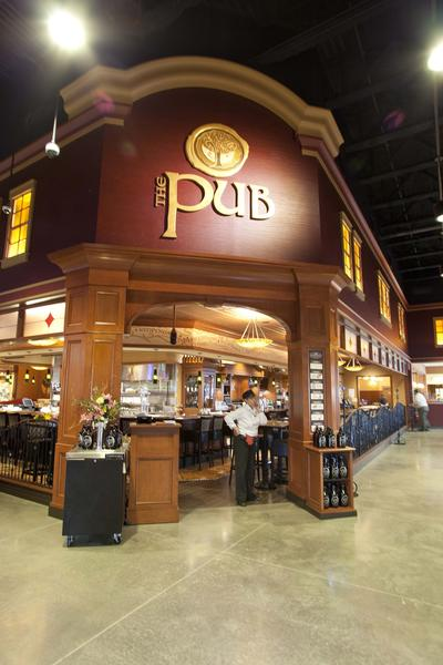 The Pub at Wegmans in King of Prussia. The Allentown Wegmans plans to open a similar-looking pub in early summer 2013.