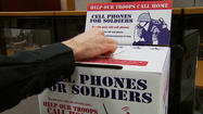 Veterans Day is celebrated every November 11th, but all-month long, a national non-profit wants your old cellphones for a good cause.