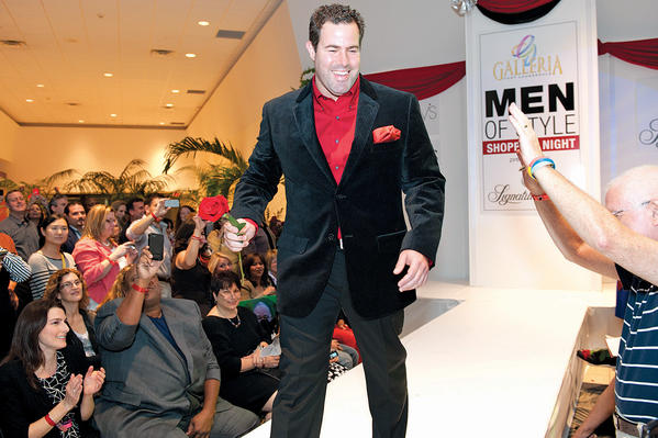 "2011 ""Men of Style"" honoree Taylor Gang walks the runway with lots of fanfare during last year's The Galleria's ""Men of Style Shopping Night."" This year's event will take place on Nov. 28 at The Galleria and will benefit 10 nonprofit organizations."