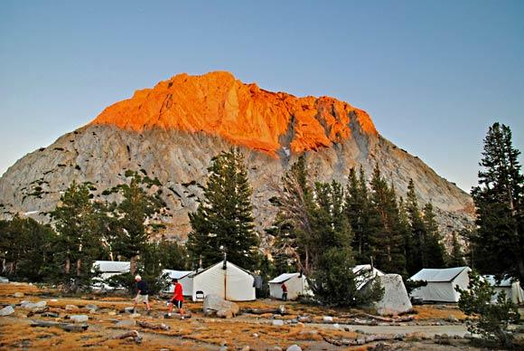 Easy camping in High Sierra