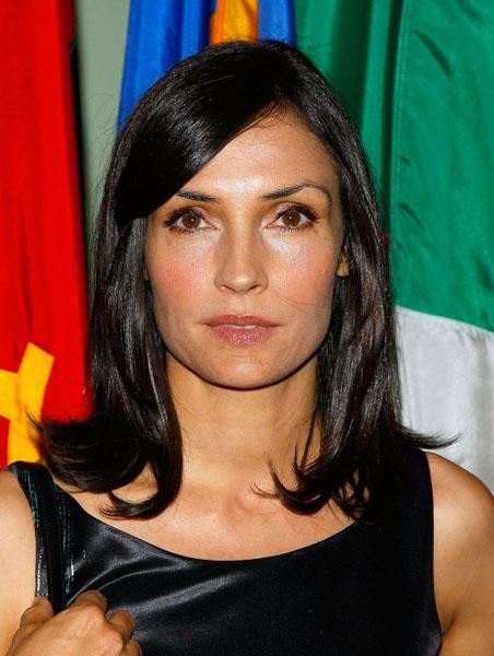 Actress Famke Janssen is 45 today. (Photo by Jemal Countess/WireImage)