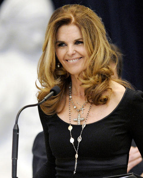 "Journalist <a class=""taxInlineTagLink"" id=""PECLB005367"" title=""Maria Shriver"" href=""/topic/entertainment/maria-shriver-PECLB005367.topic"">Maria Shriver</a> turns 56."