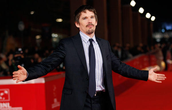 "Actor <a class=""taxInlineTagLink"" id=""PECLB002274"" title=""Ethan Hawke"" href=""/topic/entertainment/ethan-hawke-PECLB002274.topic"">Ethan Hawke</a> turns 41."