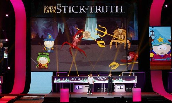 "THQ has delayed ""South Park: The Stick of Truth"" and other games that had been set to come out this winter."