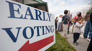 Early voting draws one in six Howard County voters; polls open