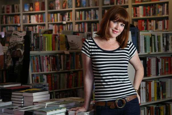 Molly Ringwald will be one of the Literary Death Match judges Wednesday.